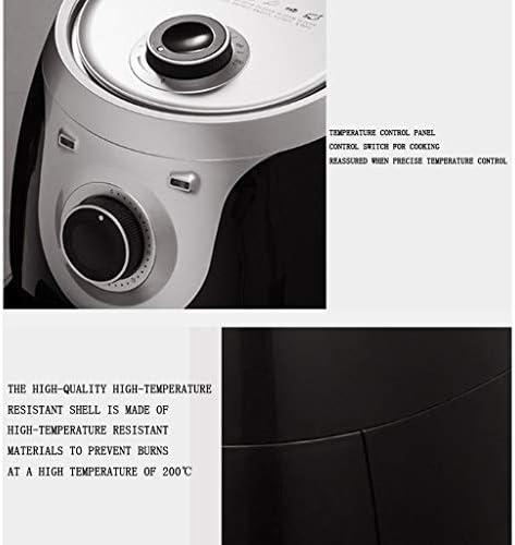 Heteluchtfriteuse, Olievrij Gezond Fornuis, Persoonlijke Compacte Gezonde Friteuse Met Instelbare Temperatuurregeling, Vaatwasmachinebestendige Onderdelen, BPA-Vrij-4L