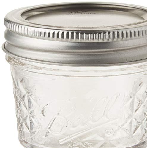 Ball 4-Ounce Quilted Crystal Jelly Jars with Lids and Bands, Set of 12-2 Pack (Total 24 Jars) by Ball (Image #2)