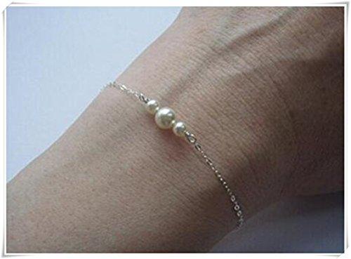 Single Pearl Bracelet - 9