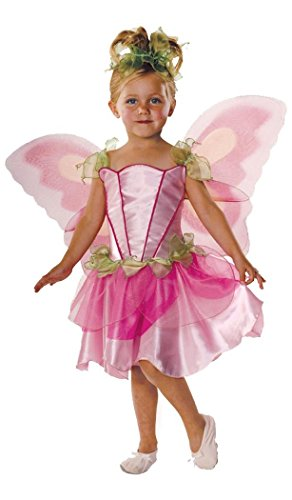 Pink Butterfly Fairy Child Costume Size X-Small (Young Ellie Costume)