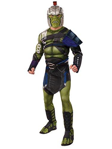Rubie's Thor: Ragnarok Adult Deluxe Warrior Hulk Costume, X-Large