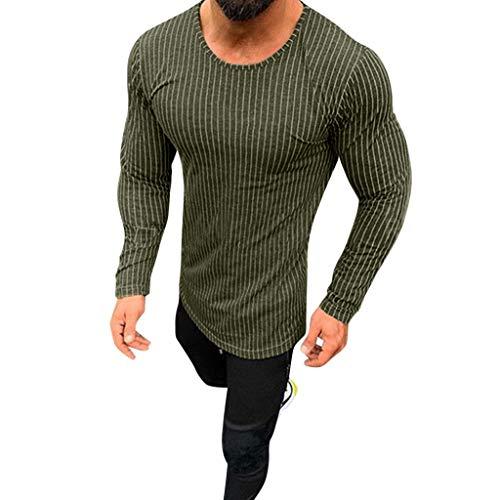 - OrchidAmor Men's Solid Raglan Baseball Tee T-Shirt Unisex Long Sleeve Casual Athletic Performance Jersey Shirt Army Green