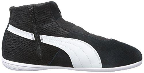 PUMA Women's Eskiva Mid Textured Cross-Trainer Shoe, Black, 7 M US by PUMA (Image #7)
