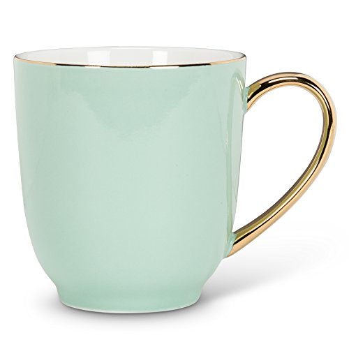 Abbott Collection Mint Mug with Gold Handle