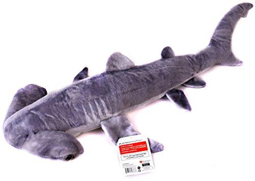 [VIAHART 31 Inch Large Hammerhead Shark Stuffed Animal Plush   MC the Hammerhead Shark] (Giant Tooth Costumes)