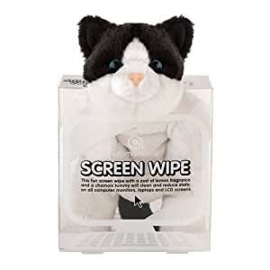 Aromahome Computer New Larger Size Screen Wipe Cat