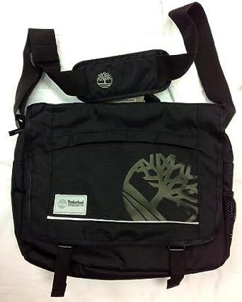 fd4365c141 Timberland - Messenger Bag - J0837 - Laptop Bag - Black: Amazon.co.uk:  Clothing