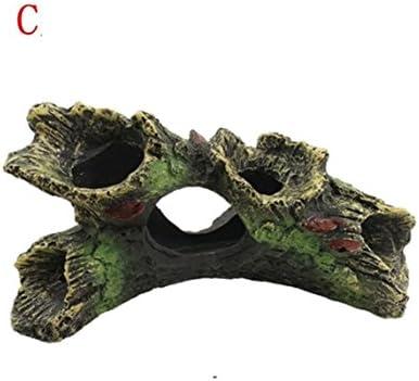 XCXpj - Figura Decorativa para Acuario, Diseño de Cueva para pecera, Paisaje