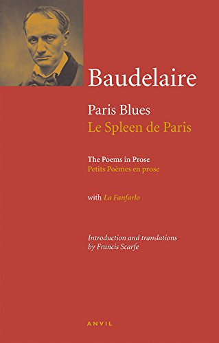 Charles Baudelaire: Paris Blues (Anvil Editions)