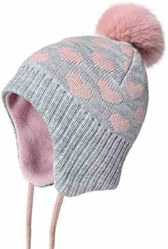 Pyret City Chic Bobble Wool Beanie 9-12YRS Polarn O