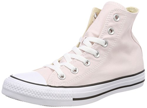 Converse Unisex Adults' CTAS Barely Rose Hi-Top Trainers, Pink Pink (Barely Rose 653)