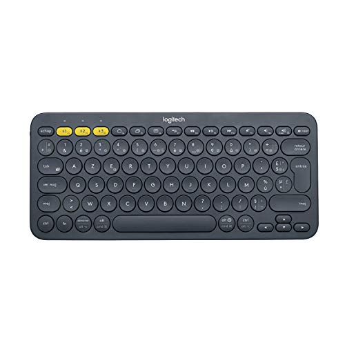 Logitech K380 Keyboard Dark Grey Multi