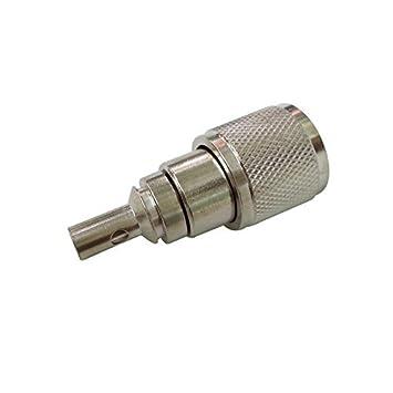 PC-Case 2pcs RF Electronics Cable Coaxial Cable Terminal Conector de aleación de cobre (