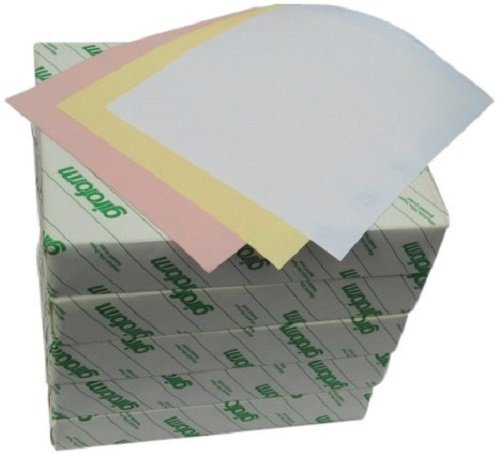 Global Lab Supply 103-8511-5S Carbonless Paper, 3-Part, Straight, 5 Reams