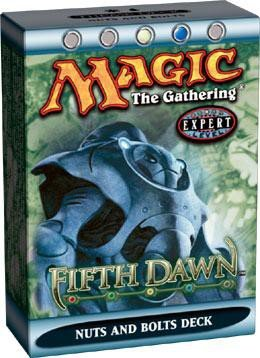 Magic the Gathering MTG Fifth Dawn Nuts & Bolts Theme Deck by Wizards