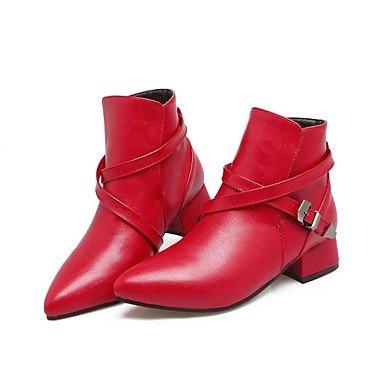 RTRY Zapatos De Mujer Invierno Materiales Personalizados Comfort Novedad Al Tobillo Botas De Nieve Botas De Montar Botas De Moda Botas De Combate Ligero Soles Botas US8 / EU39 / UK6 / CN39