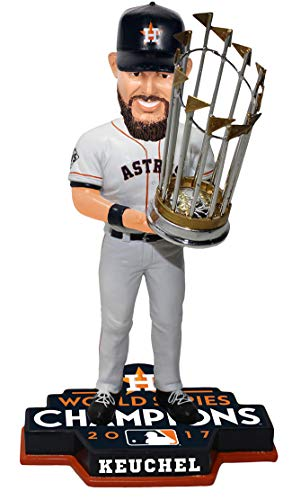 Forever Collectibles Dallas Keuchel Houston Astros 2017 World Series Limited Edition Bobblehead MLB