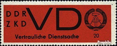 DDR DD3x (Complete.Issue.) Bedarfsstermpel 1965 State Emblem (Stamps for Collectors)