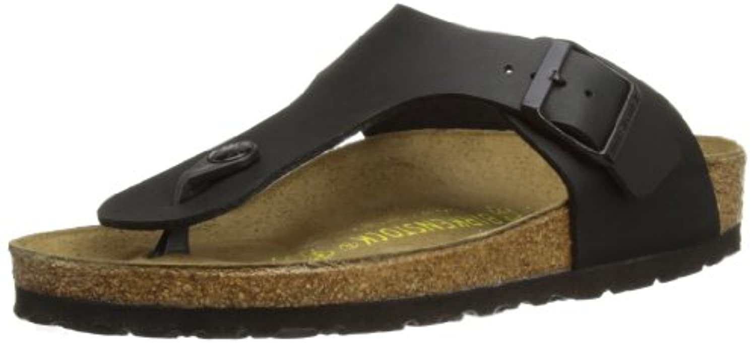 Birkenstock Ramses, Unisex-Adults' Sandals, Black, 2.5 UK (35 EU) (2 M)