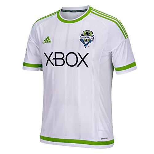 MLS Seattle Sounders FC Men's Replica Short Sleeve Jersey, Large, White
