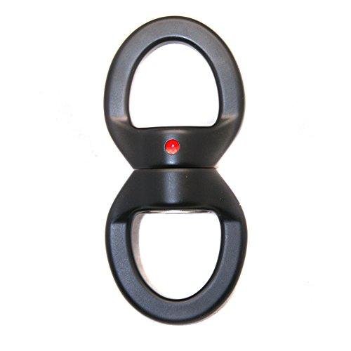 Fusion Climb Oval Swivel Aluminum Alloy Rings Black/Black