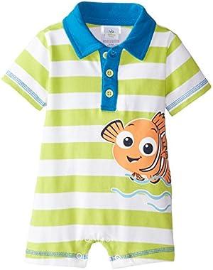Disney Baby Boys' Nemo Boys Knit Romper