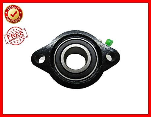 Replacement Salt Spreader Bearing - 2 Bolt Flange - 1