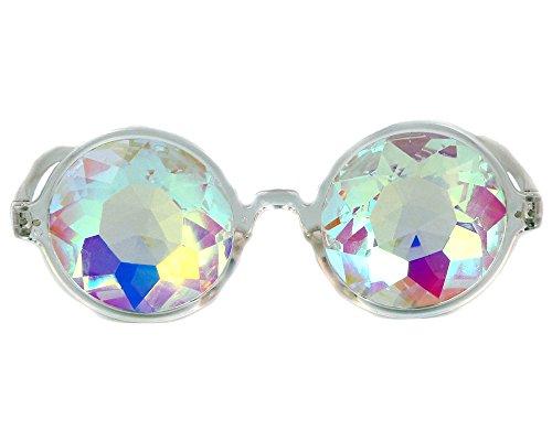 Lelinta Premium Kaleidoscope Glasses - Best Rave Diffraction Glass Crystal - Case Minion Glasses
