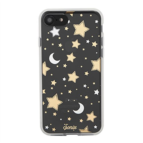 iPhone 8 / iPhone 7, Sonix Milky Way Clear Coat Cell Phone Case (Stars, Silver, Gold) - Drop Test Certified - Retail Packaging - Sonix Clear Case Series for Apple (4.7) iPhone 7, iPhone 8