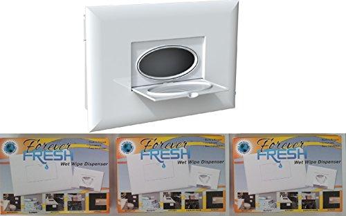 Forever Fresh In-Wall Wet Wipe Dispenser - Triple Pack (Set of 3)