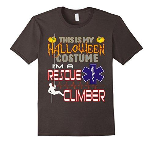 Mens Halloween Costume Rescue Climber Shirt Small (Climber Halloween Costume)