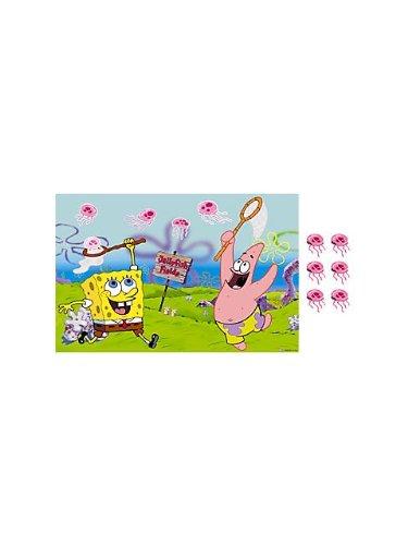 Spongebob Squarepants Party Game Poster (1ct)