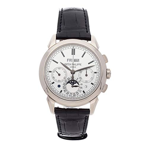 Patek Philippe Grand Complications Mechanical (Hand-Winding) Silver Dial Mens Watch 5270G-001 (Certified Pre-Owned) ()