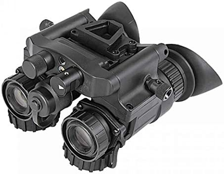 AGM Global Vision 14NV5123454011 NVG50 NW - Dual Tube Night Vision Goggle & Binocular - 51 deg FOV Gen 3 Plus Auto-Gated White Phosphor