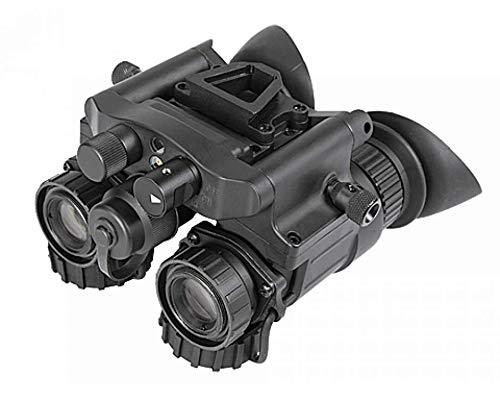 AGM Global Vision 14NV5123453011 NVG50 3NL1 - Dual Tube Night Vision Goggle & Binocular - 51 deg FOV Gen 3 Plus Auto-Gated Level 1