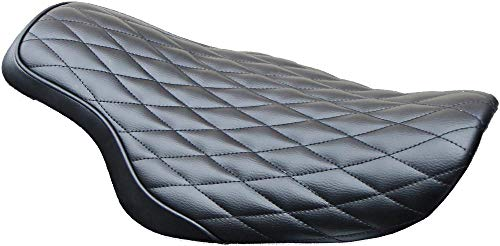 West-Eagle Motorcycle Products H0421 Solo Cobra Seat - Diamond ()