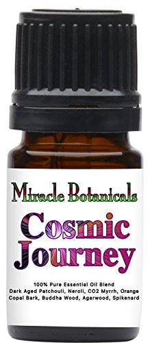 Miracle Botanicals Cosmic Journey Essential Oil Blend (Patchouli Essential Oil Blend) - 100% Pure Therapeutic Grade Essential Oils - 5ml ()