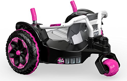 Pink Power Wheels Tractor : Power wheels wild thing pink ride on kids cars