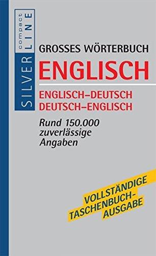 Wörterbuch Englisch (Compact SilverLine)