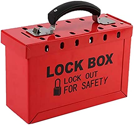 B Baosity 2 Unids Loto Box Safety Lockout Tagout Lock Device ...