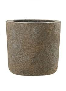 Esteras 800218Galway Old stone Grey Juego de 3Kübeln, fibra de vidrio (GFK), impermeable de & UV UV