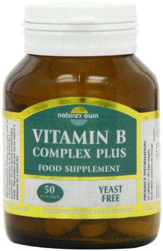Natures Own Vitamin B Complex Plus 50