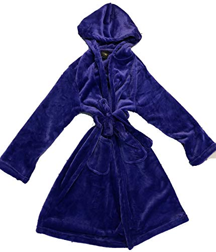- Just Love Velour Solid Robes for Girls 75604-PUR-10-12