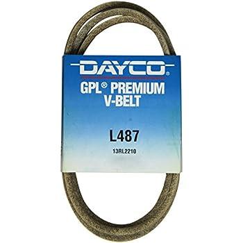Dayco L487 V Belts