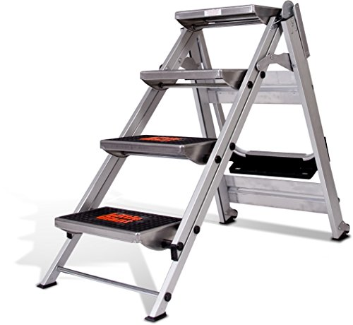 Little Giant Ladder Systems 10410ba Safety Step Ladder