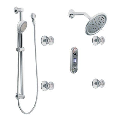 Moen TS295 IO/Digital Iodigital Vertical Spa, Chrome by Moen