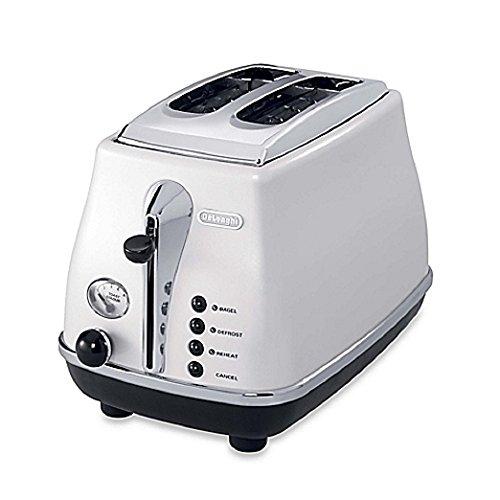 De'Longhi CTO2003W 2-Slice Toaster (White)