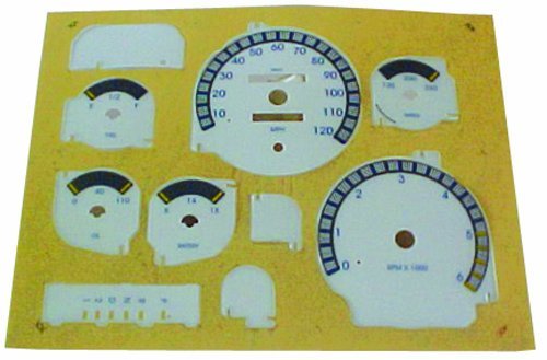 IPCW 94-97 Dodge Ram PU White Face Dash Kits (With Blue Lettering) CWF-1127 1 pc
