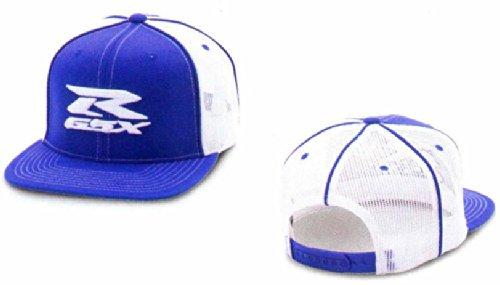 Suzuki GSXR Blue & White Embroidered Trucker Hat 990A0-17132