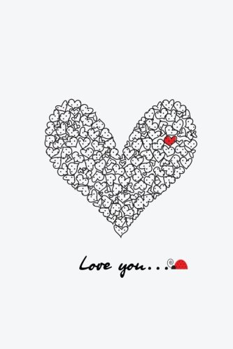 Love You: Blank/Lined notebook (Draw and Write Journal) (Mother Daughter Notebook)